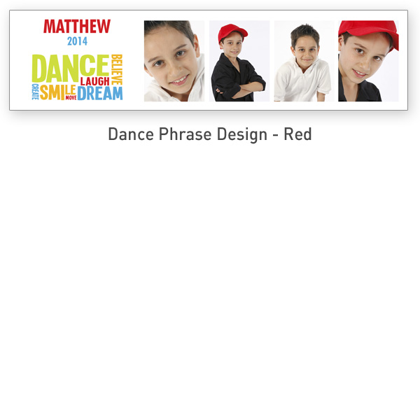 Dance Design (20x5 Inch) | 5x20_Dance_Phrase_RED.jpg